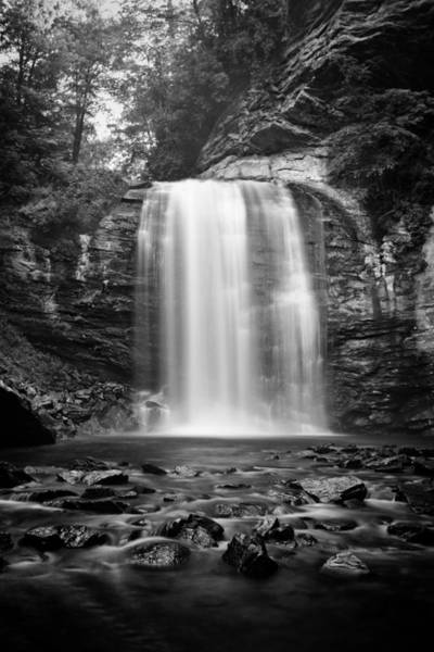 Photograph - Looking Glass Falls Number 8 by Ben Shields