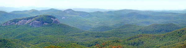 Photograph - Looking Glass Rock And Valley In The Spring by Duane McCullough