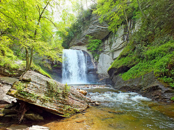 Photograph - Looking Glass Waterfalls In The Spring 3 by Duane McCullough