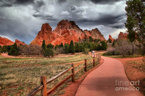 Photograph - Looking Into A Storm by Adam Jewell