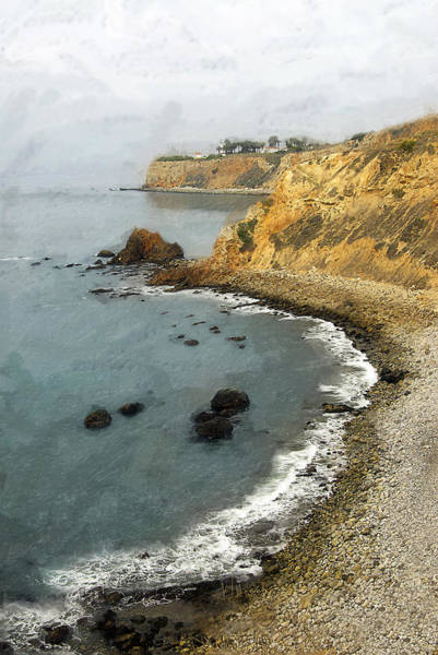 Verde Photograph - Looking North To The Lighthouse by Ron Regalado
