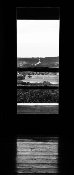 Photograph - Looking Out A Country Door. by Darryl Dalton