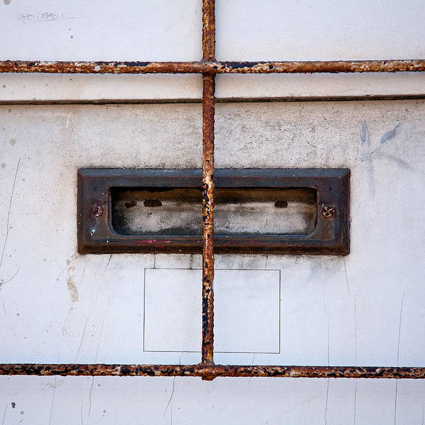 Mail Slot Photograph - Looking Out For The Mailman by Peter Tellone