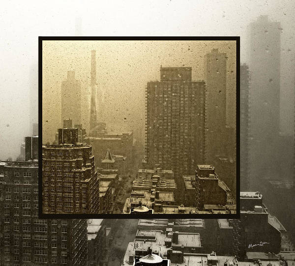 Wall Art - Photograph - Looking Out On A Snowy Day - Nyc by Madeline Ellis