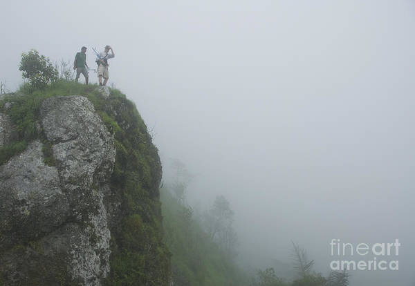 Photograph - Looking Over A Cliff by Dan Suzio