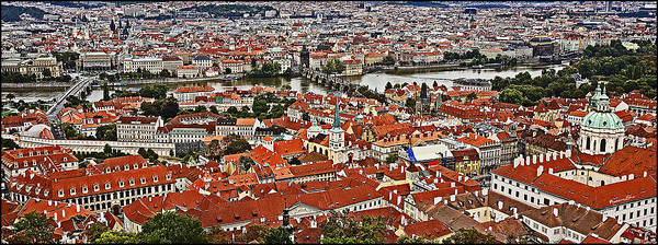 Wall Art - Photograph - Looking Over Prague by Madeline Ellis