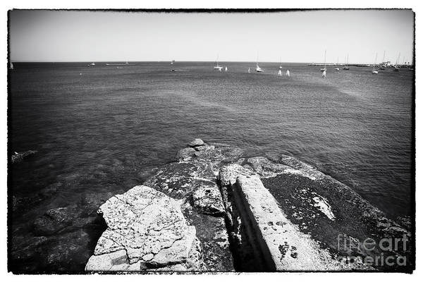 Wall Art - Photograph - Looking Past The Rocks by John Rizzuto