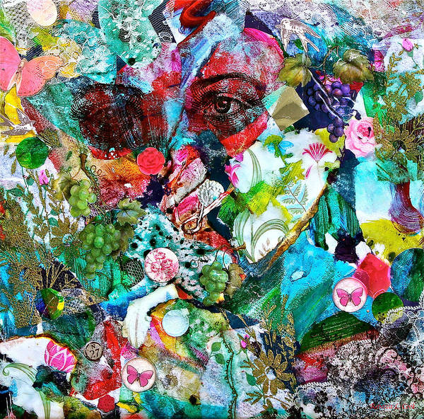 Mixed Media - Looking Through by Bellesouth Studio