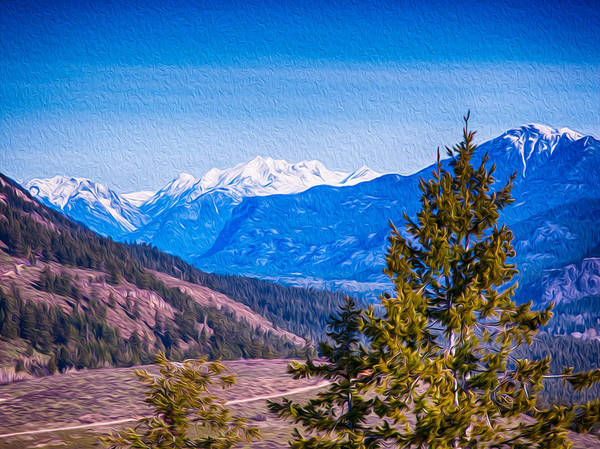 Photograph - Looking To Mazama From Sun Mountain by Omaste Witkowski