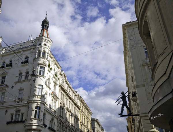Wall Art - Photograph - Looking Up In Vienna by Madeline Ellis