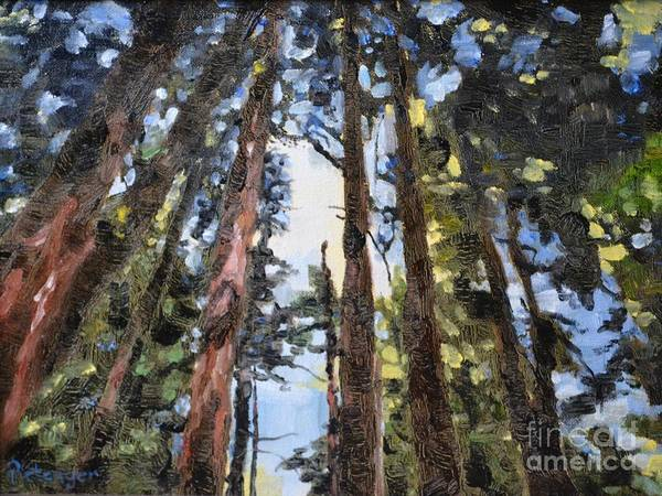 Painting - Looking Up by Lori Pittenger