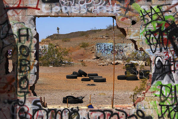Wall Art - Photograph - Lookout On Route 66 by Mike McGlothlen