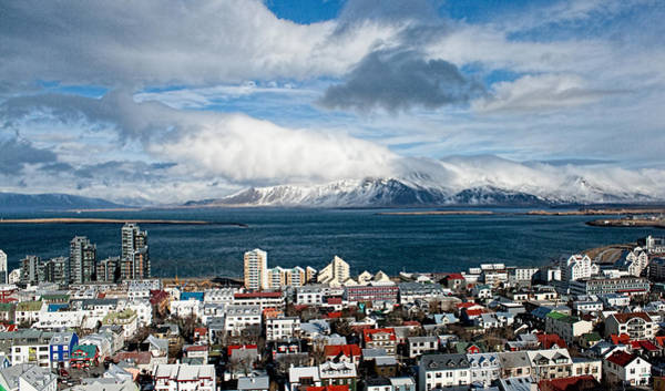 Photograph - Lookout Over Reykjavik by Kristia Adams