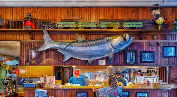 Boca Grande Photograph - Loose Caboose Restaurant - Boca Grande by Frank J Benz