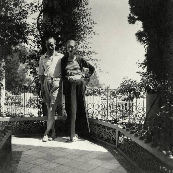 Male Photograph - Lord And Lady Brownlow In Tunisia by John McMullin