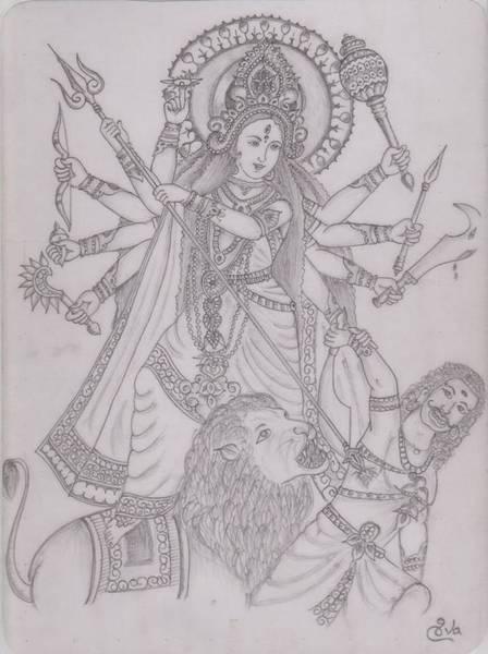 Shiva Drawings | Fine Art America