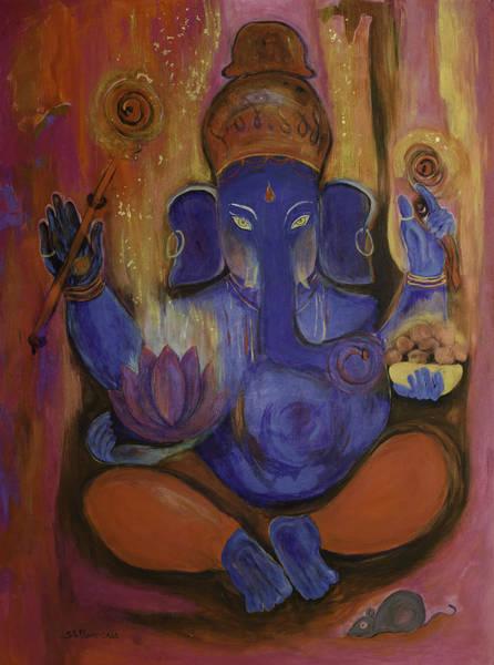 Ganesh Painting - Lord Ganesh by Stella Maris Jurado