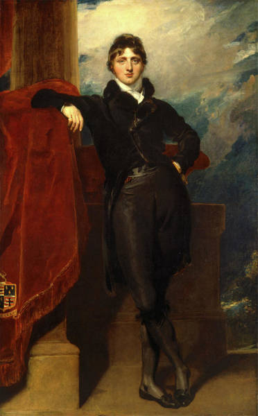 Wall Art - Painting - Lord Granville Leveson-gower, Later 1st Earl Granville by Litz Collection
