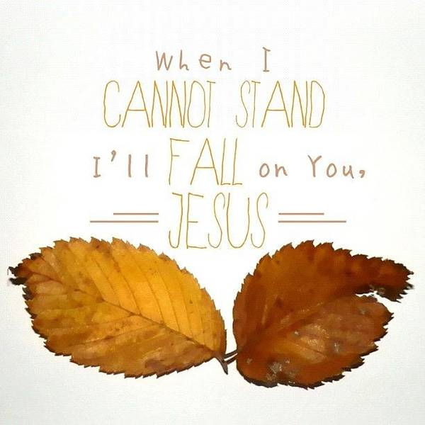 Brown Wall Art - Photograph - Lord, I Need You // Passion Worship by Traci Beeson