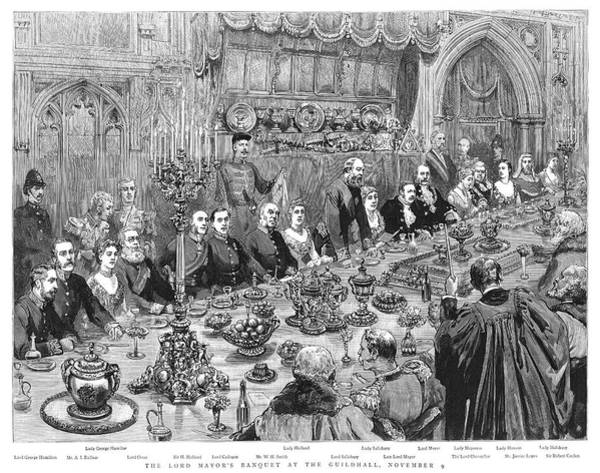 Wall Art - Painting - Lord Mayor's Banquet, 1887 by Granger