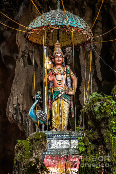 Photograph - Lord Murugan Statue by Adrian Evans