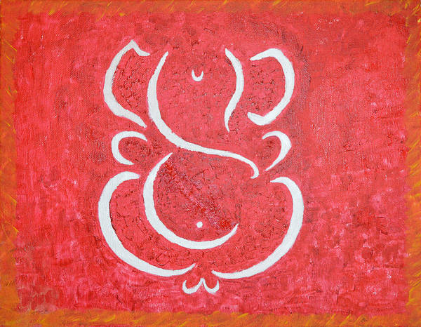 Ganesh Painting - Lord Of Lords by Sonali Gangane