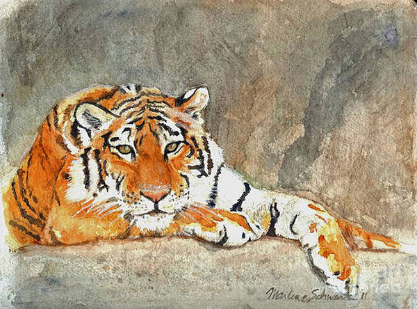 Painting - Lord Of The Jungle by Marlene Schwartz Massey
