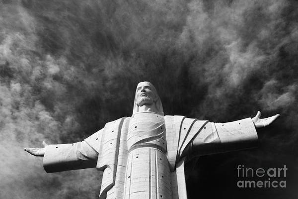 Redeemer Wall Art - Photograph - Lord Of The Skies 1 by James Brunker