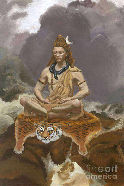 Lord Shiva Paintings | Fine Art America