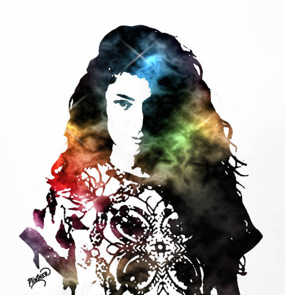 Hit Digital Art - Lorde by Patricia Lintner