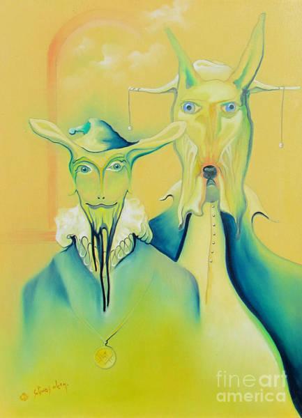 Painting - Lords by Alexa Szlavics