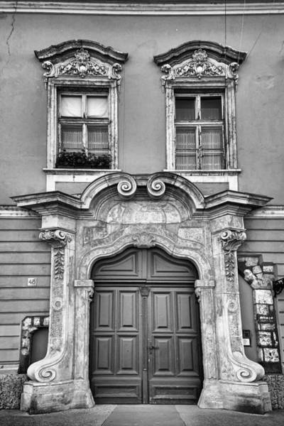 Photograph - Lords Street 48 Bw by Joan Carroll