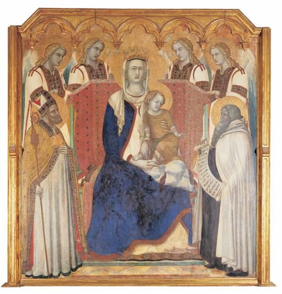 Wall Art - Photograph - Lorenzetti Pietro, Carmine Altarpiece by Everett