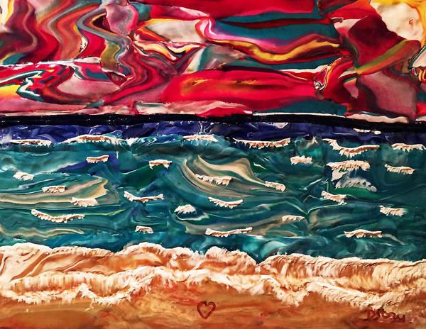Lori's Paradise Art Print