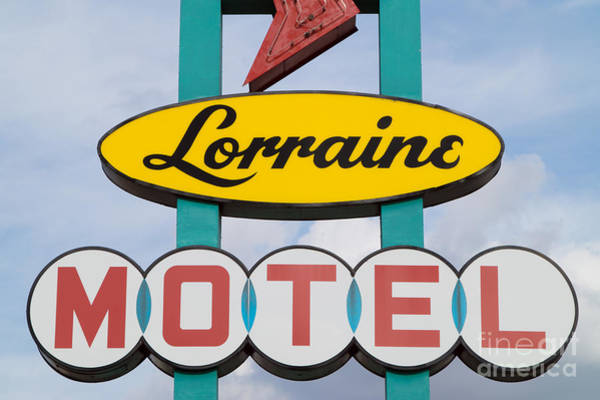 Photograph - Lorraine Motel Sign II by Clarence Holmes