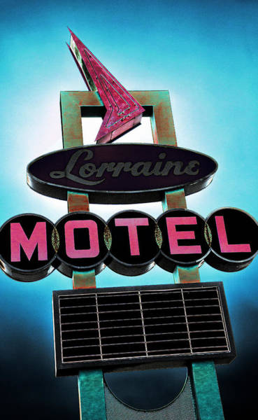 Mod Photograph - Lorraine Motel by Stephen Stookey
