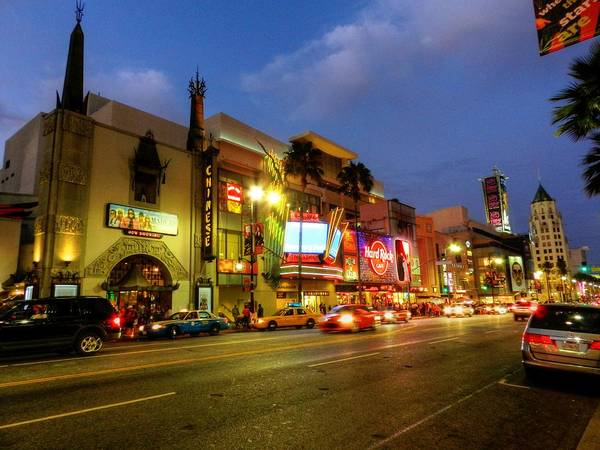 Photograph - Los Angeles 008 by Lance Vaughn