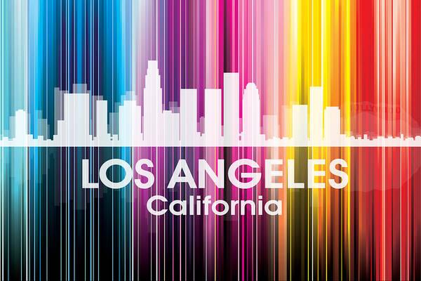Mixed Media - Los Angeles Ca 2 by Angelina Tamez