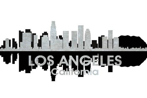 Mixed Media - Los Angeles Ca 4 by Angelina Tamez