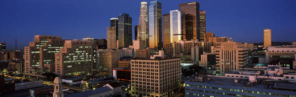 Rise Above Wall Art - Photograph - Los Angeles Ca Usa by Panoramic Images