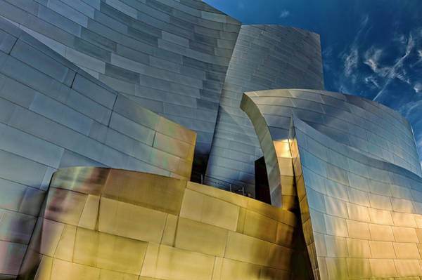Concert Hall Photograph - Los Angeles, California by Rona Schwarz