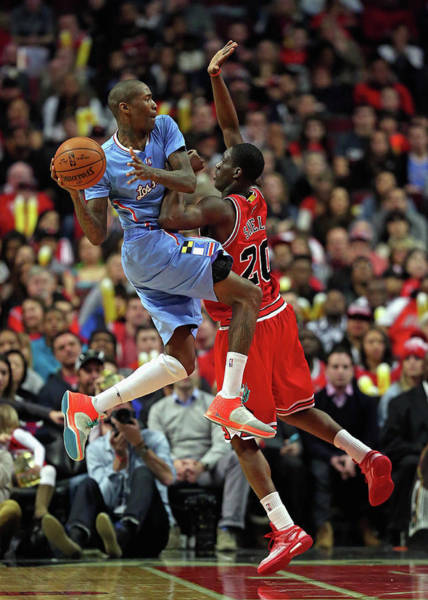 Chicago Photograph - Los Angeles Clippers V Chicago Bulls by Jonathan Daniel