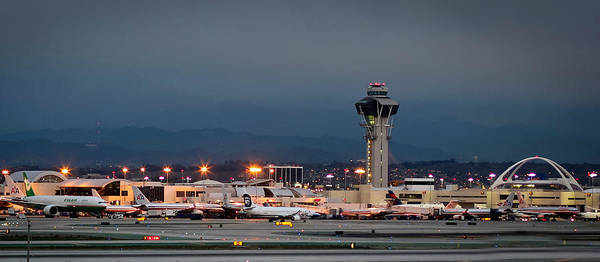 Lax Photograph - Los Angeles International Airport by April Reppucci
