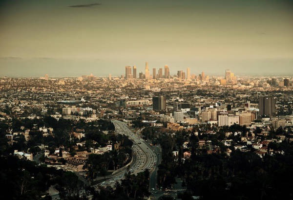 Photograph - Los Angeles by Songquan Deng