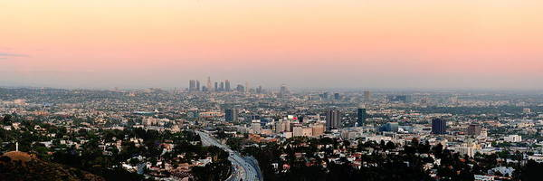 Photograph - Los Angeles Sunset by Songquan Deng