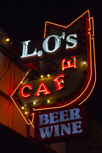 L.o's Cafe Art Print