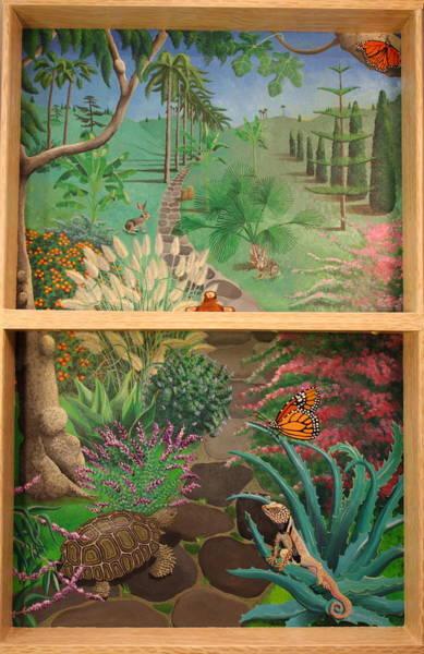 Painting - Los Feliz Fantasy by Amanda  Lynne