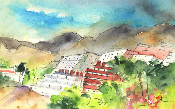 Painting - Los Gigantes In Tenerife 02 by Miki De Goodaboom