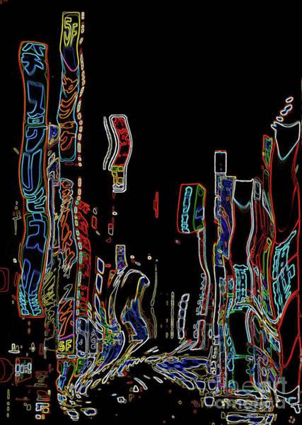 Digital Art - Losing Equilibrium - Abstract Art by Carol Groenen