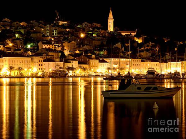 Losinj Photograph - Losinj By Night by Sinisa Botas